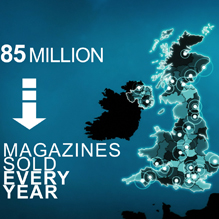 Motion Graphics for former BBC Magazines
